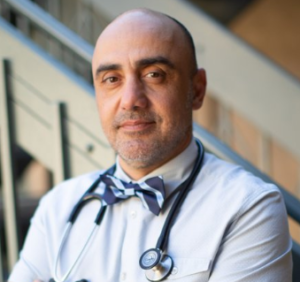 Wound care specialist Dr. Faried Banimahd